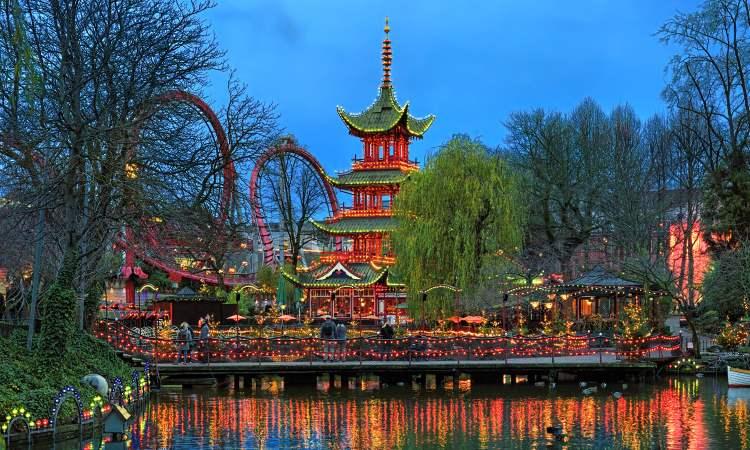 Freizeitpark Tivoli Kopenhagen